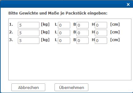 SmartPACK - Packen